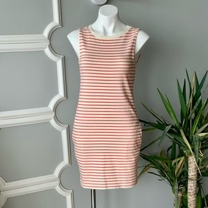 Soft Joie Striped Knit Shift Dress in Red Size XS